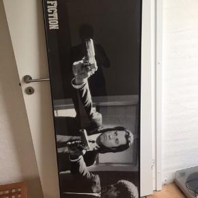 Flot film billede med ramme. Str 160x50!