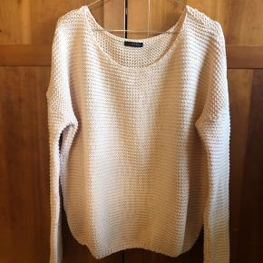 Grovt strikket bluse med oversized fit ✨
