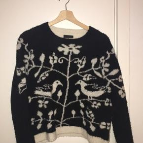 Sød sweater fra Stella Nova i uldblanding, derfor dejlig varm:)