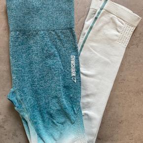 Gymhark adapt ombre seamless leggings. Har et lille område over begge knæ, hvor man kan se, at et mørkt elastikbånd har siddet
