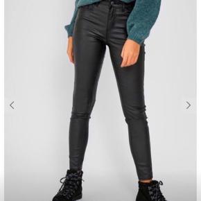 Sælger disse læder skinny bukser Str xs Er nye med prismærke 200kr💕✨