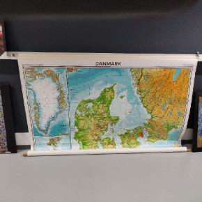 Meget velholdt Danmarks kort