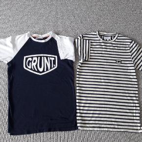 CRUNT T-shirt  Str s ca str 140-146 Næsten som nye Fra røgfrit og dyrefrit hjem  50 kr pr stk