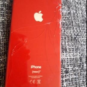 Sælger den iPhone 8 plus 256gb smadderet bag skræm forskræm forbrugs ridser kasse medfølger dette er prisen for den