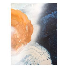 Maleri  50x60 cm  Mixed media :)   Instagram @artbymalene