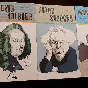 5 kanon-forfattere gennemgået i Dansklærerforeningens biografier.