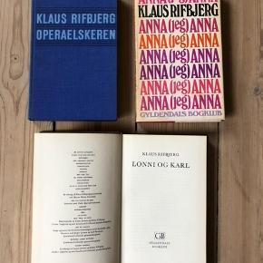 Pris er pr. stk Alle i rigtig god stand.   - Operaelskeren - Anna (jeg) Anna  - Lonni og Karl   Jeg sender gerne, køber betaler porto. Kan også afhentes på Frederiksberg.
