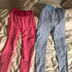 Limited edition tights fra MyProtein sælges. De blå er brugt en enkelt gang og de pink er kun prøvet på ☺️