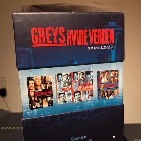 Greys hvide verden hele sæson 1, 2 & 3!