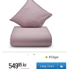 Har disse to helt nye sæt sengetøj fra Nordisk Tekstil. Billederne er så man kan se dem for og bagfra. Ny pris pr sæt. 550,- = 1150,- Mp for begge sæt 650,-