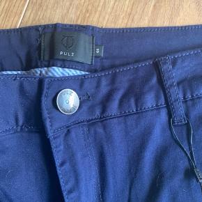 Fede nye bukser fra Pulz. Stadig med mærke. Lækker blå farve  #30dayssellout