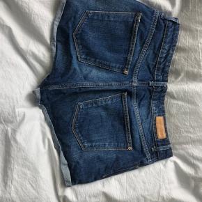 Highwaisted jean shorts fra Mango