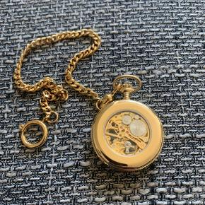 Royal London Gold Plated Mechanical Open Face Pocket Watch *NEW* Never used was a gift