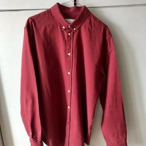 Samsøe&Samsøe (SLIM FIT) skjorte!  - Suveræn stand og ren.  100% cotton