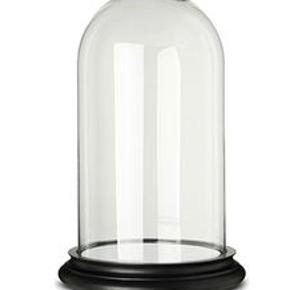 Super fin glasklokke. Den er 31 cm høj incl. fod. Den skal afhentes i Århus C., jeg sender ikke, da der så er risiko for, at glasset går i stykker.
