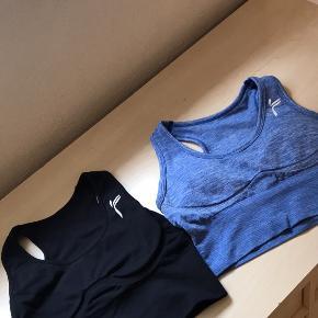 Famme shorts BH 'er  Elevate Crop Top  I meget pæn stand   Ny pris pr. Stk var 399,-   Sælges samlet eller hver for sig 🌞  Køber betaler fragten 🌺  Skriv for pris mv
