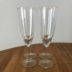 4 IKEA champagneglas