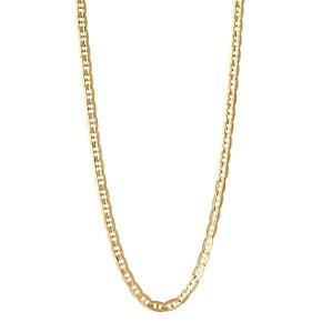 Maria Black Carlo Halskæde.  65 cm. 18 karat sterling sølv