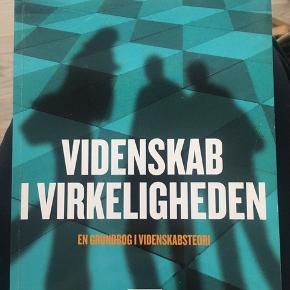 VIDENSKAB I VIRKELIGHED - en grundbog om videnskabs teori. 1. Udgave 3. Oplag 2012 ISBN: 978 87 593 1506 4 Pris: 200kr (ny pris 298kr) aldrig brugt