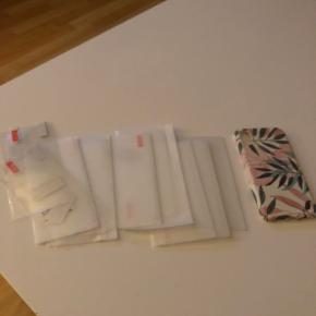 7 stk panser glas og cover til en iPhone x