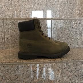 Seje grønne Timberland støvler str 35,5, måler 22 cm