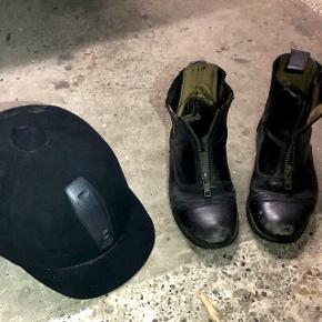 📍 Kan afhentes i Sindal 📦 Sendes på købers regning 📲 Tager imod MobilePay  ❌ Ingen bytte eller retur  •Ridestøvler •Hjelm