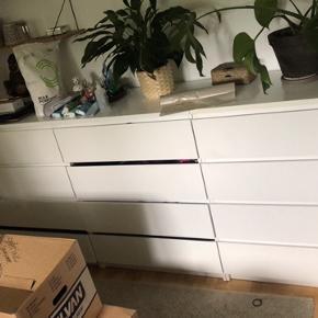 IKEA malm kommoder 3 stk. Sælges for 100kr. Alle for 200kr. Skal afhentes.