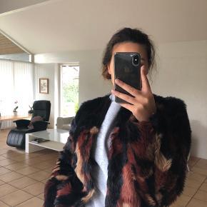 VILA pels- & skindjakke