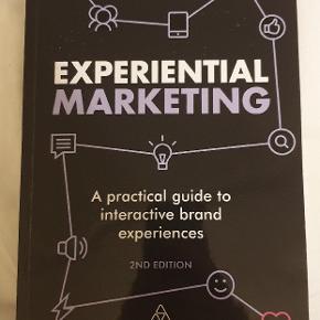 Experiental marketing, Shirra Smilansky 2nd edition  ISBN: 978 0 7494 8096 7  Meget få overstregninger
