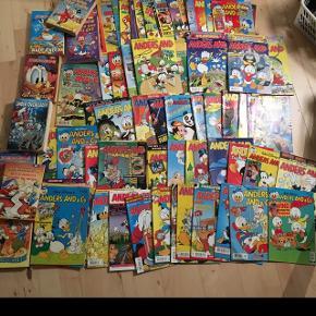 54 Anders and blade og 8 jumbo bøger samlet