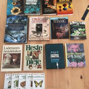 Forskellige bøger