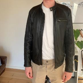 Selected Homme skind- & læderjakke