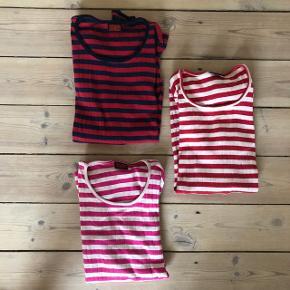 3 trøjer fra Nørgaard på strøget, den røde og pinke er næsten ikke brugt. Sælges samlet eller hver for sig 🤗