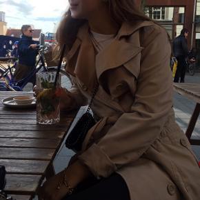Smuk cotton coat. God med brugt