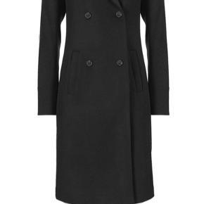 Perfekt uld frakke.