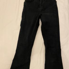 Flared jeans.