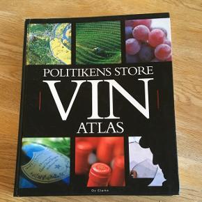 Politikens store vin atlas Afhentes i sædding Byd😀