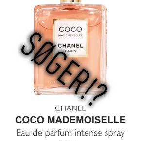 Jeg SØGER en coco mademoiselle intense, parfume som er 50ml eller 100ml til en fair pris..