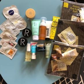 Nivea Q10 mask 10,- ❌  JorgObe scrub mask 5,- ❌ Rodial Pink Diamond gel 25/stk ❌ Rodial Vit C eye soufflé 20,- ❌ James Read 30,- ❌ Rodial banana powder 70,- ❌ Rodial contouring powder 70,- ❌ Ole Henriksen 50,- ❌  Swell Serum 35,- ✅  Biotherm Anti-pollution 45,- ✅ Hello Fab primer 50,- ❌  Dr Paw Paw 20,- ❌  Lancôme nuit ❌ Bellapierre banana setting powder ❌ Emma Hardie 60,-✅ Too Cool For School sæt 45/stk✅