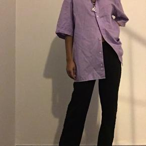 Mega fed lilla farve skjorte 💜