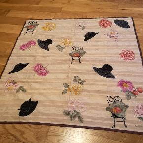 Vintage Lanvin halstørklæde. 60x60 cm.