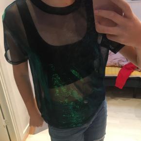 Gennemsigtig T-shirt fra H&M
