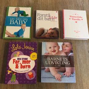 Bøger om børn, Lola jensen bla., emne: familie og børn  Forskellige bøger om børn. Sælges helst samlet til 200,-