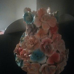 Blomstervase fra Birch Nielsen sælges 🌸