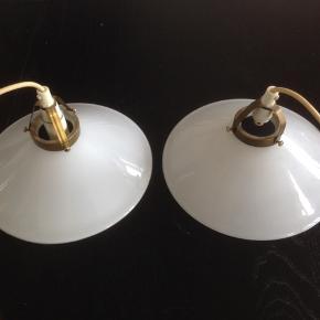 Gamle skomager lamper i perfekt stand.  Ø 25 cm.