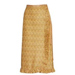 Helt vildt fin nederdel fra hanne Bloch  One size  Kan passes af alle størrelser, da den kan bindes.