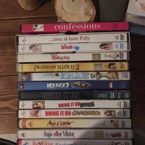 34 DVD'er sælges - gerne samlet men også hver for sig