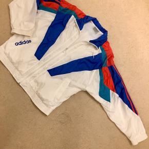 Retro Adidas trøje med lynlås