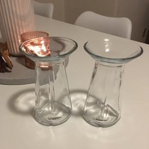 Rosendahl Hyacintvaser 2 stk. Fejler intet. Pris for begge vaser: 75 kr.