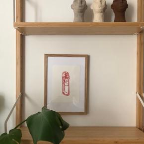 Lighters 💫 Tegnet med fineline pen og farver ✨ 20x15 cm  1 stk. 65kr 2 stk. 140kr  OBS.  Rød linjede lighter er SOLGT ✨